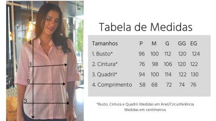 CAMISA FEMININA MANGA 3/4 AZUL ESTAMPADA - Cópia (1)
