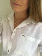 MAXI CAMISA FEMININA BRANCA